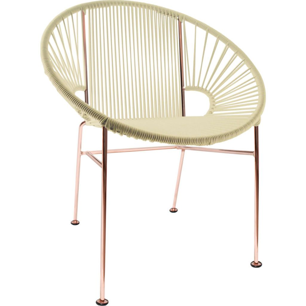 Innit Designs Concha Chair | Copper/Ivory