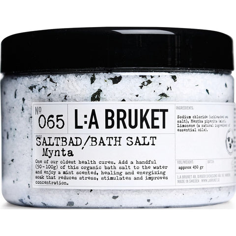 L:A Bruket No 065 Bath Salt | Mint 450g 10171