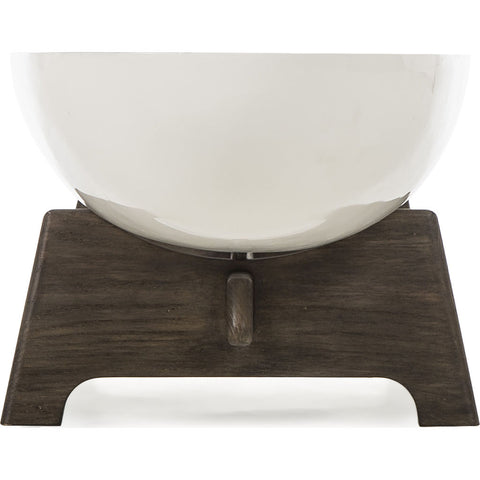 Resource Decor Danica Coffee Table | French Oak/Fiberglass