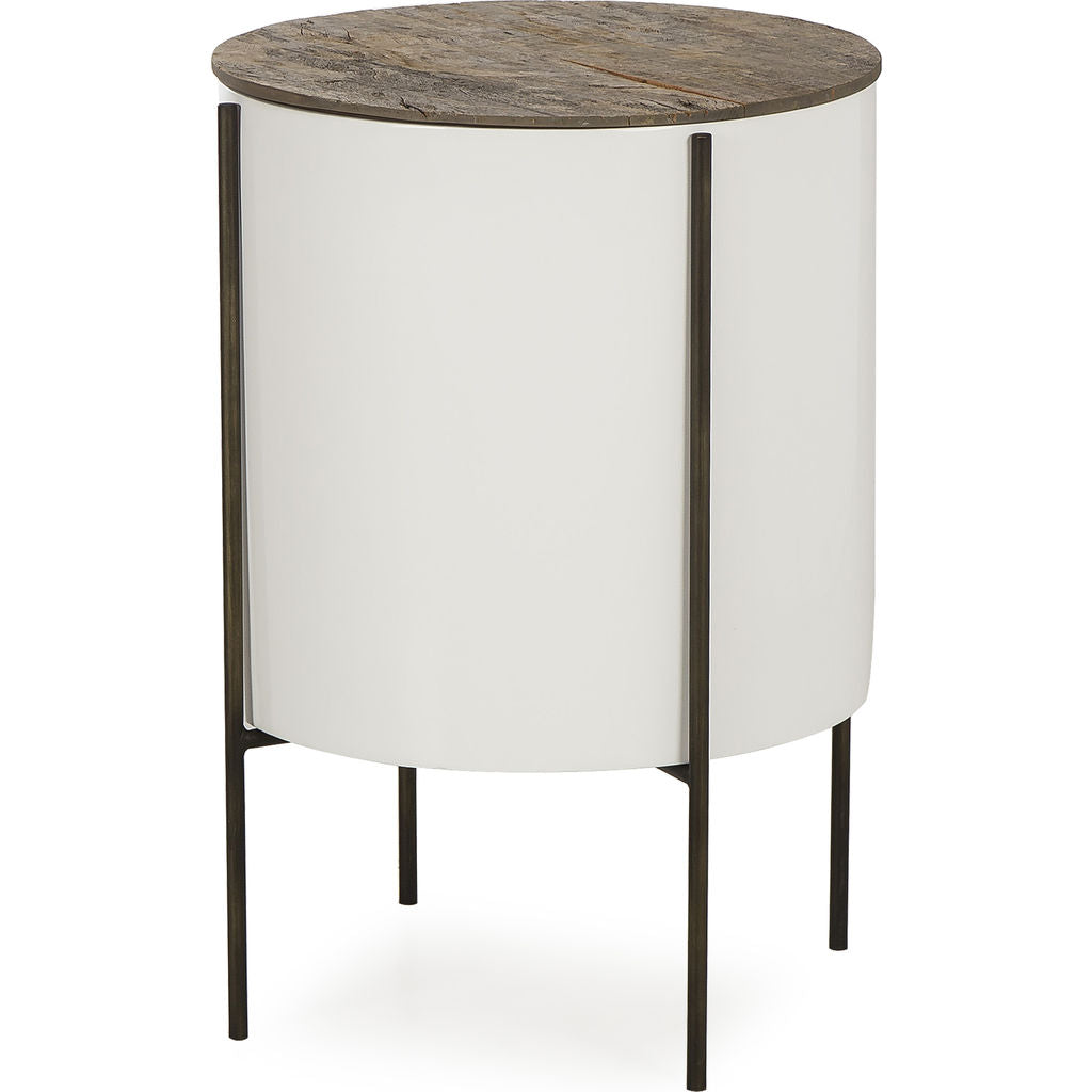 Resource Decor Danica Tube Side Table | Peroba