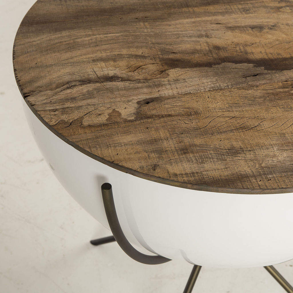 Resource Decor Danica Bowl Side Table | Peroba