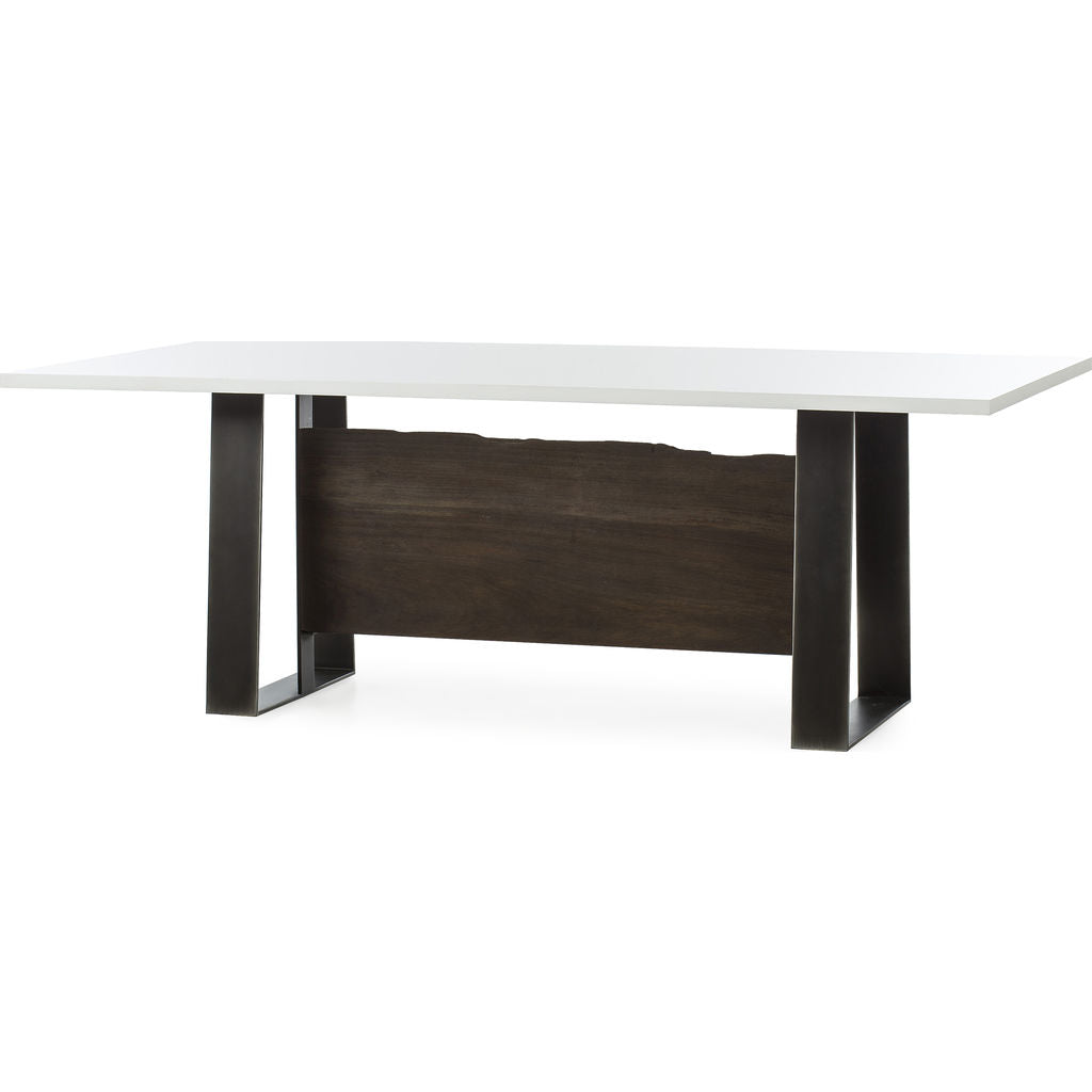 Resource Decor Jordan Dining Table | White Acrylic