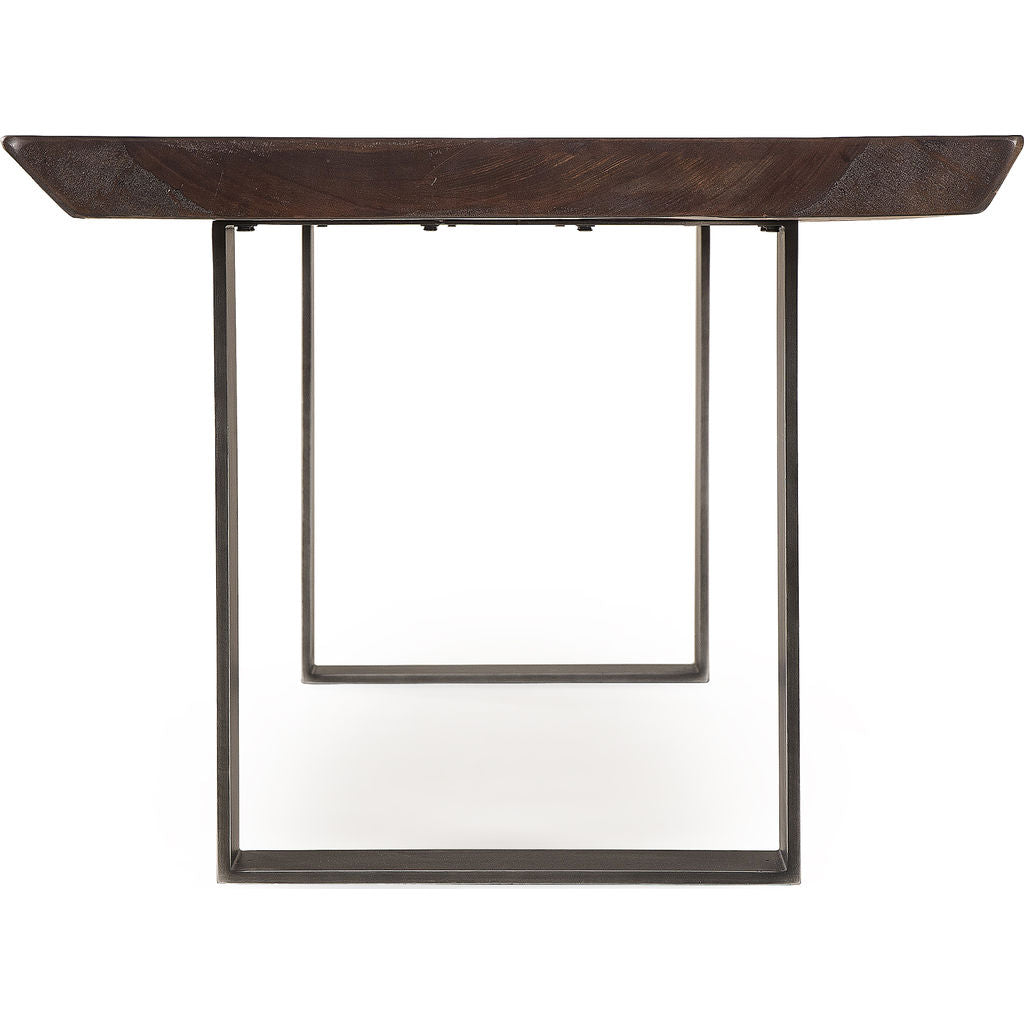 "Resource Decor Live Edge 82"" Dining Table 