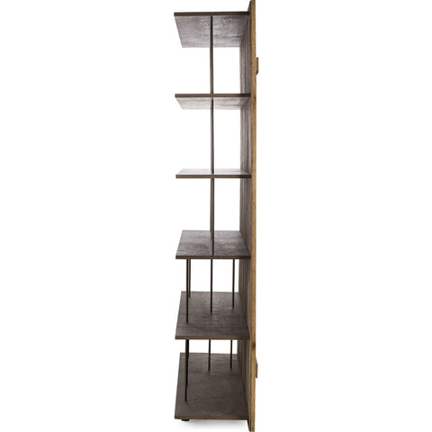 Resource Decor Peyton Bookcase | Peroba/Oak