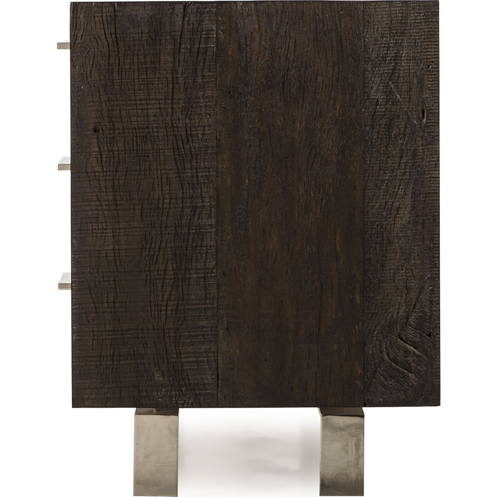 Resource Decor Latham Credenza | Peroba/Shargreen/Steel