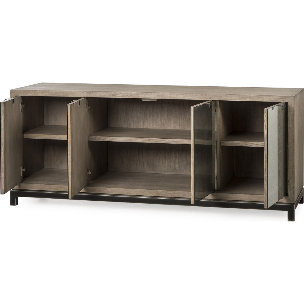 Resource Decor Miguel Credenza | Rustic Oak