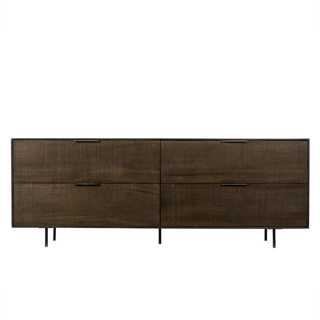 Resource Decor Tribeca Dresser | Walnut