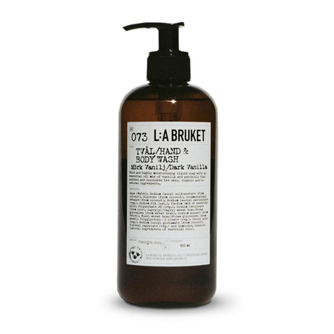 L:A Bruket No 073 Hand & Body Wash | Dark Vanilla 250ml 10559