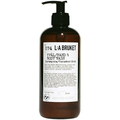 L:A Bruket No 074 Hand & Body Wash | Cucumber/Mint 250ml 10558