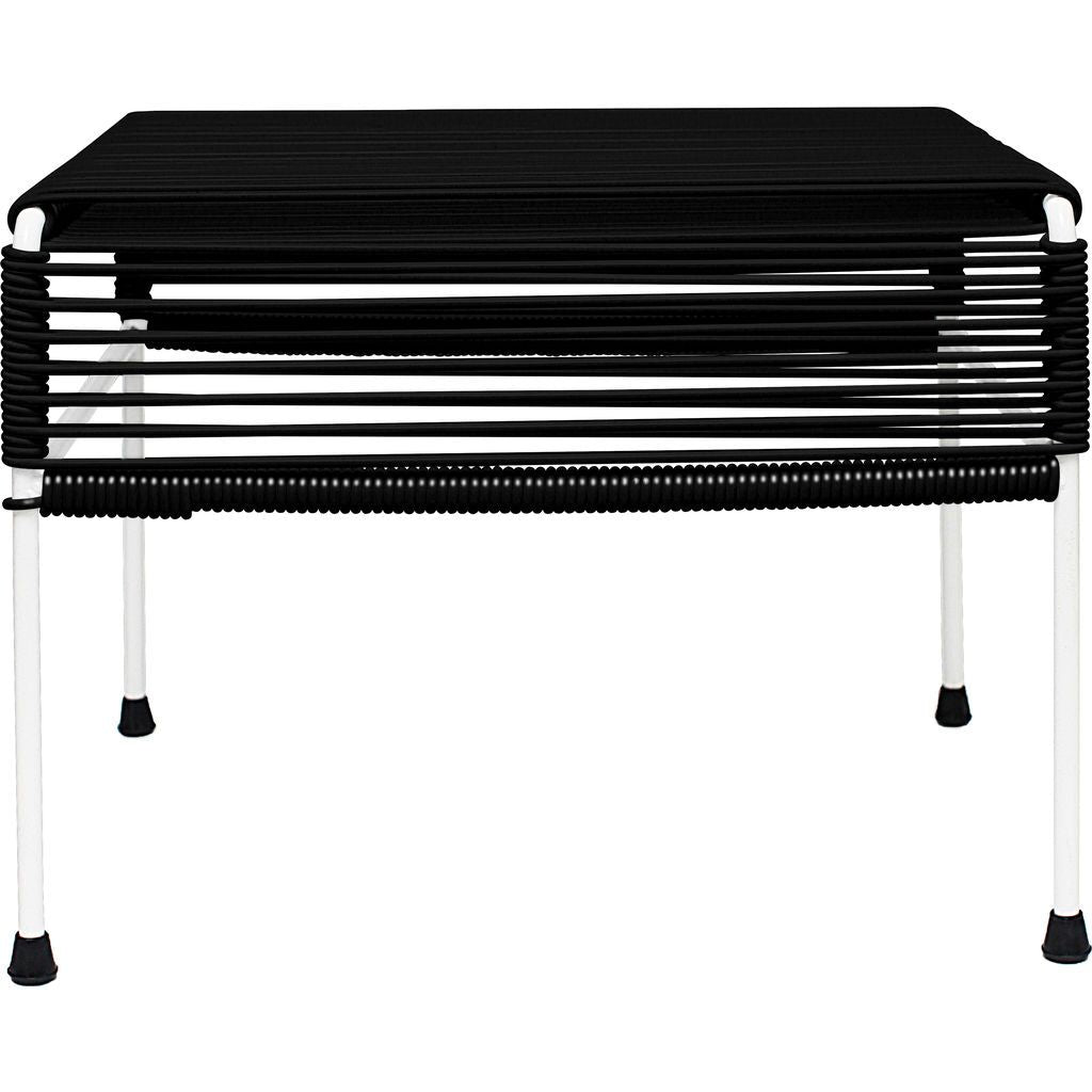 Innit Designs Atom Ottoman | Black/White