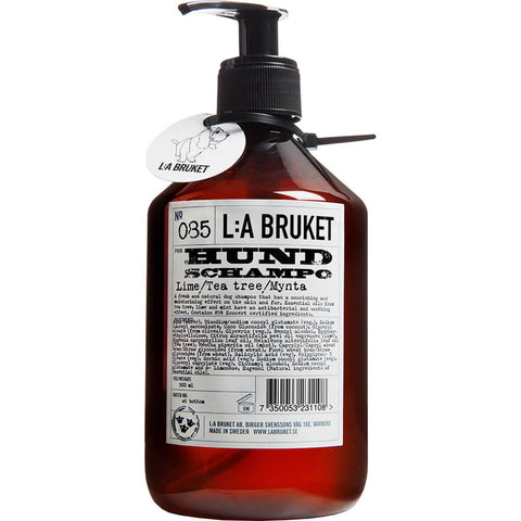 L:A Bruket No 085 Dog Shampoo 500 ml | Lime/Tea Tree/Mint