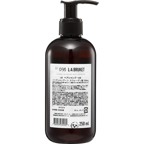 L:A Bruket No 086 Shampoo 250 ml | Coriander/Black Pepper