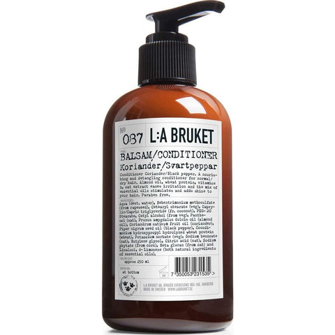 L:A Bruket No 087 Conditioner 250 ml | Coriander/Black Pepper