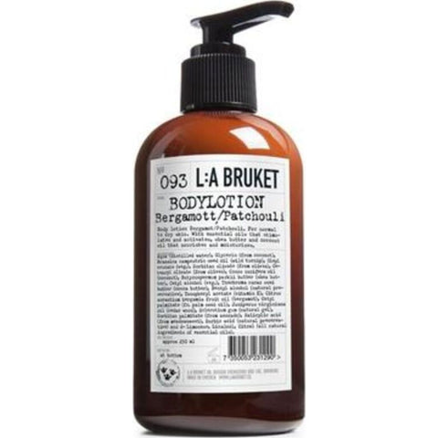 L:A Bruket No 093 Body Lotion 250 ml | Bergamot/Patchouli