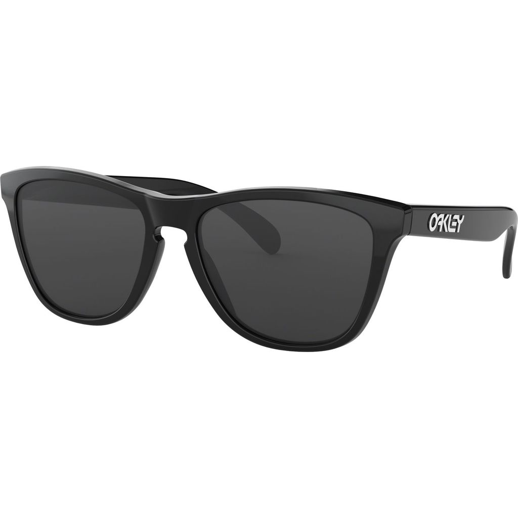 Oakley Frogskins Polished Black Sunglass | Grey 0OO9013 24-30655
