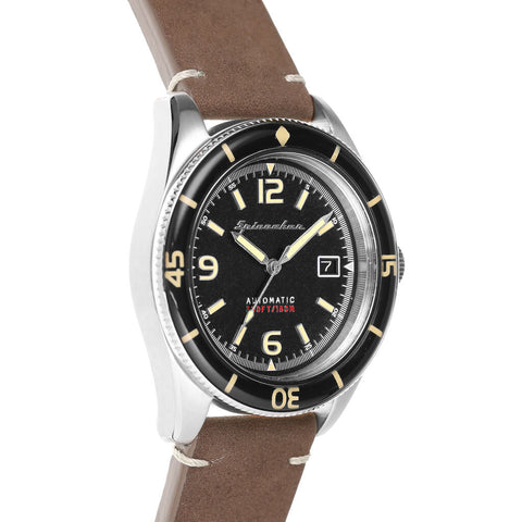 Spinnaker Fleuss SP-5055-01 Automatic Watch | Black/Brown