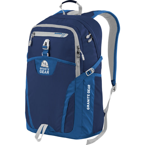 Granite Gear Voyageurs 29.5L Backpack | Midnight Blue/Enamel Blue/Chromium 1000010_5019