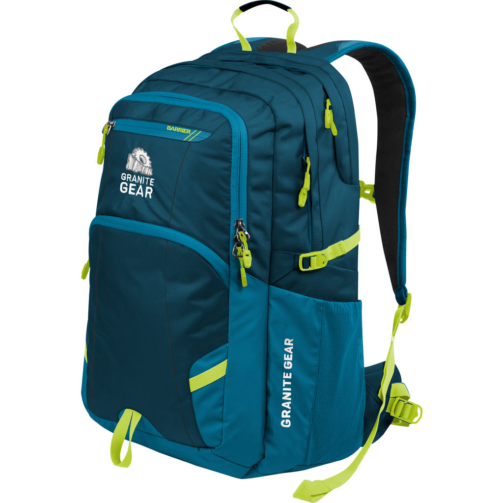 Granite Gear Sawtooth 32L Backpack | Basalt/Bleumine/Neolime 1000013_5011