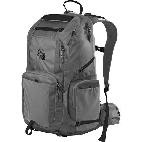 Granite Gear Jackfish 38L Backpack | Flint/Black 1000026_0102