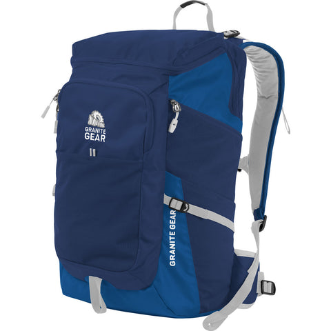 Granite Gear Verendrye 35L Backpack | Midnight Blue/Enamel Blue/Chromium 1000046_5019