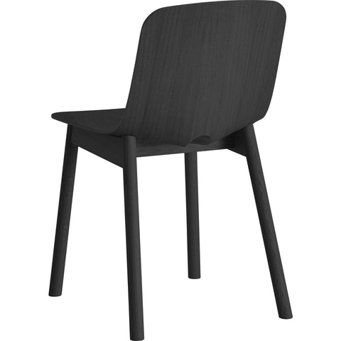 Woud Mono Dining Chair Set | Black 100011