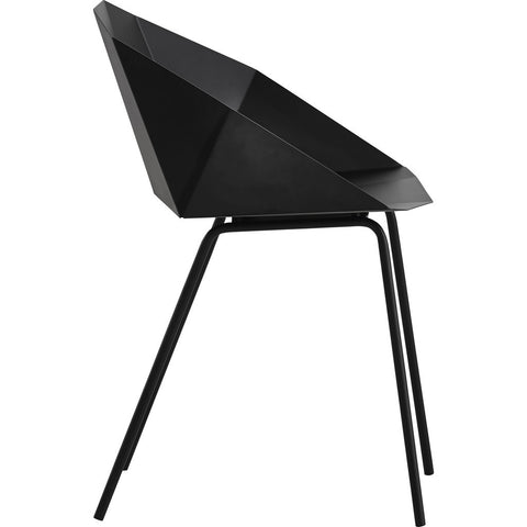 Woud Buk Dining Chair | Black 100050