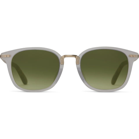 Toms Barron Matte Vintage Sunglasses | Tortoise Bottle Green 10009580
