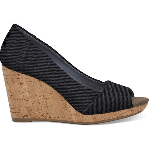 TOMS Women's Stella | Black Denim