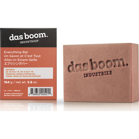 Das Boom Everything Soap Bar Detroit (Tobacco, Musk & Motor Oil) BD-SP-TMM-4