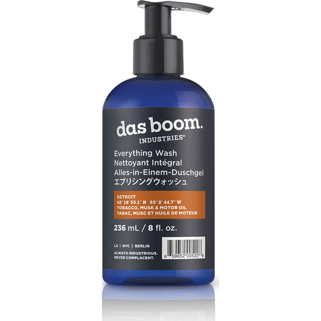 Das Boom Everything Wash Detroit (Tobacco, Musk & Motor Oil) BD-EW-TMM-4