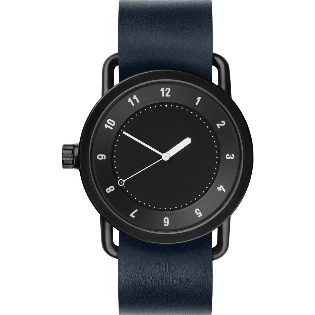 TID No. 1 Black Watch | Navy Leather