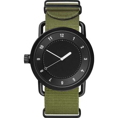 TID No. 1 Black Watch | Green Nylon