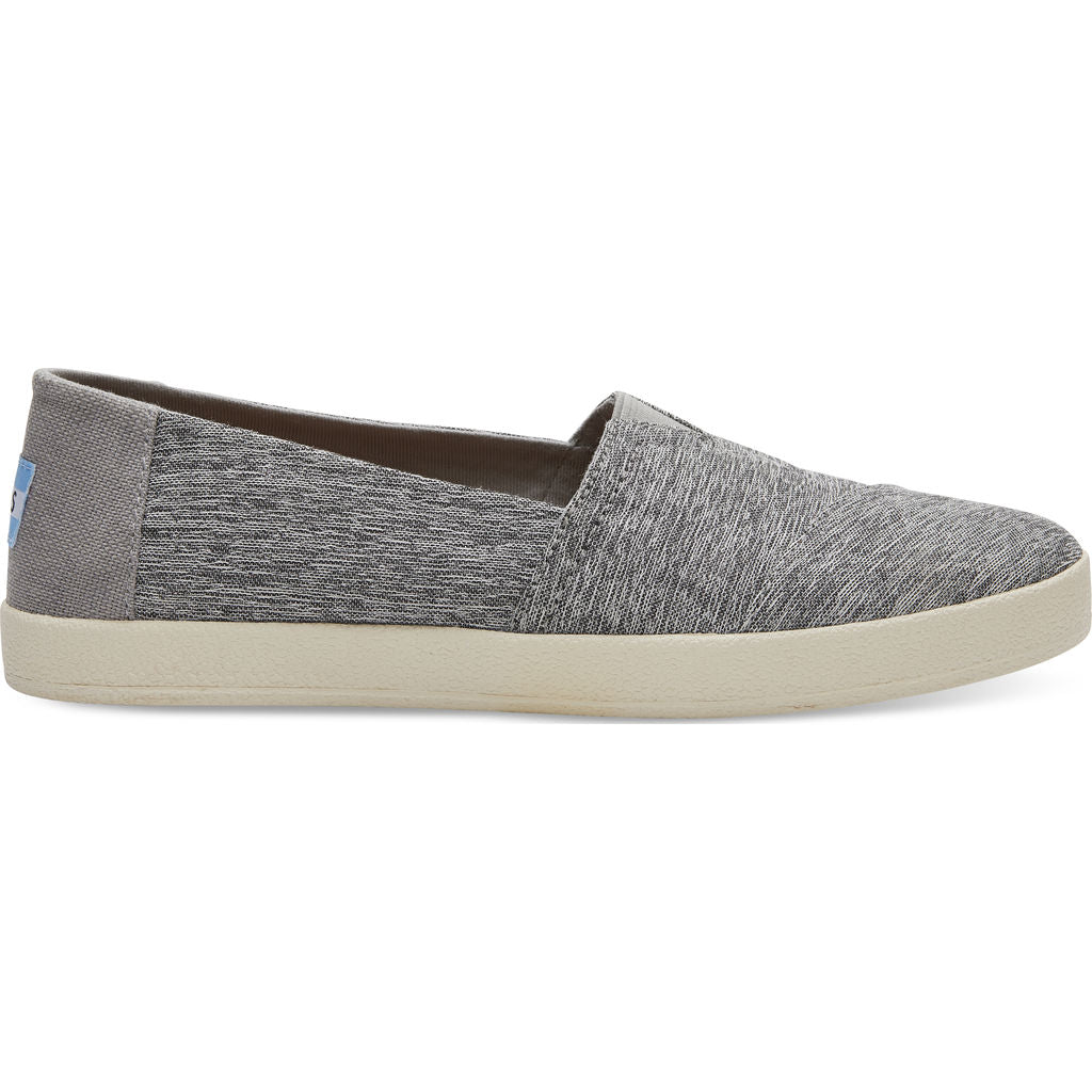 ... TOMS Women's Avalon Forged Iron Space Dye Slip Ons | Grey- 10010812 -7  ...