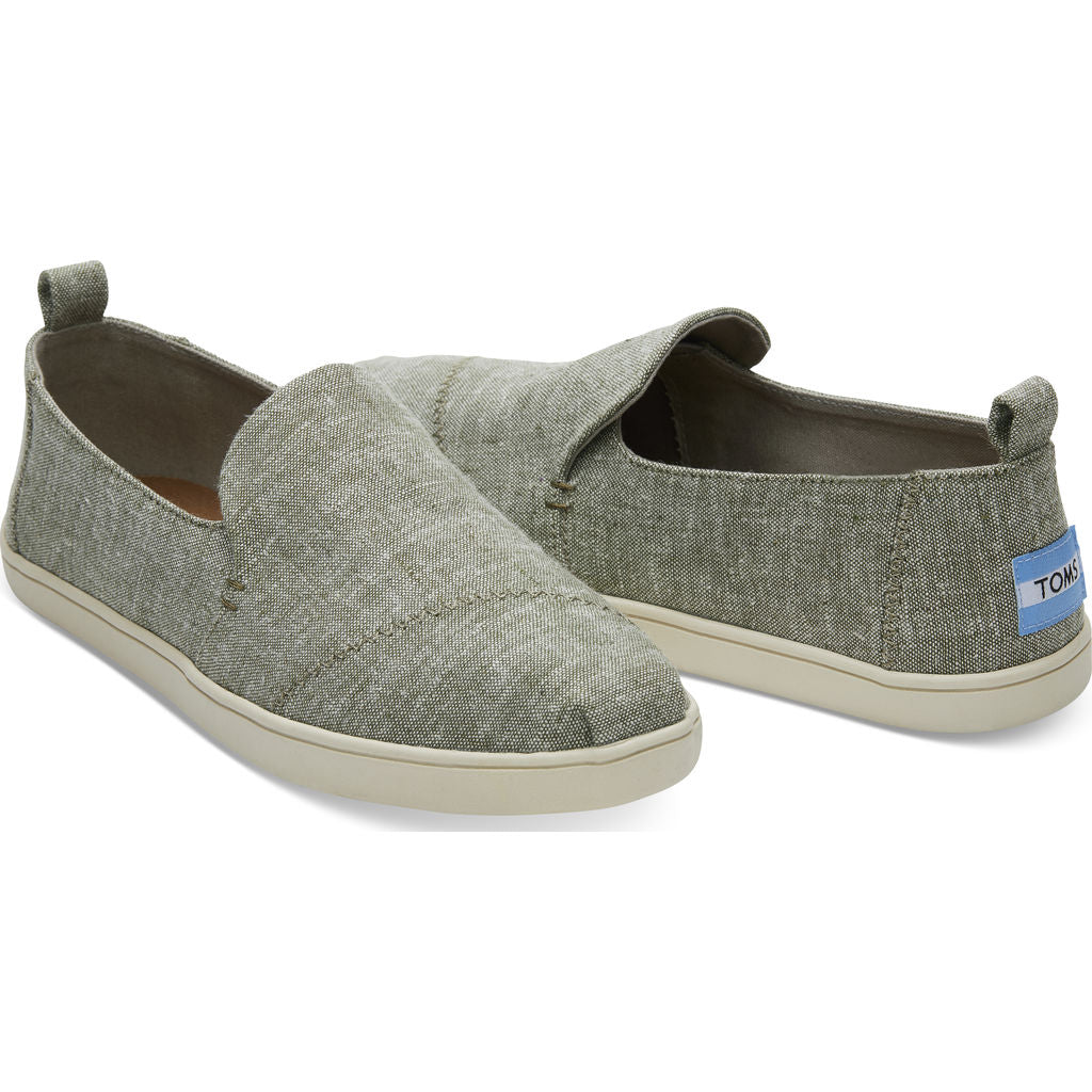 917f8a8351d ... TOMS Women s Deconstructed Alpargata Slub Chambray Cupsole Slip Ons