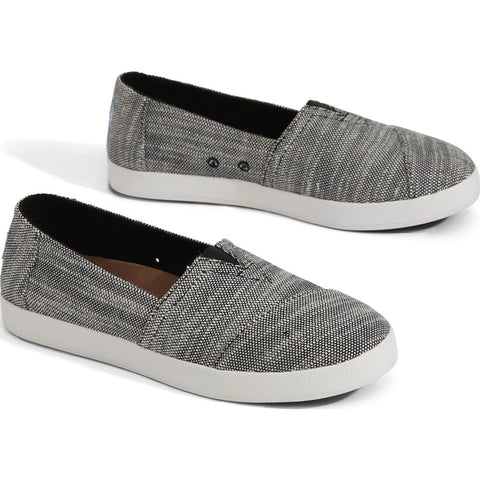 TOMS Women's Avalon Slip Ons | Black 10011841