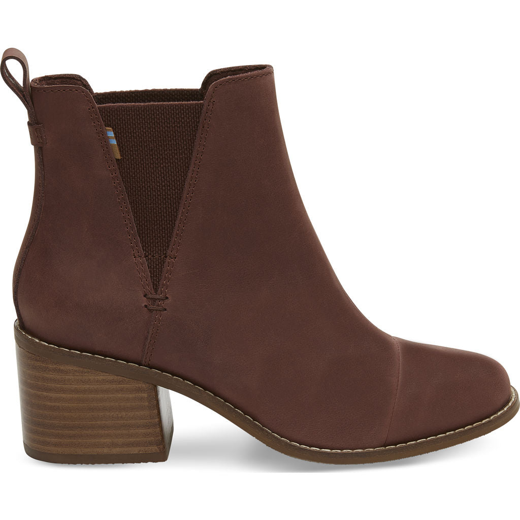eb4444eb27f TOMS Women s Esme Leather Boots