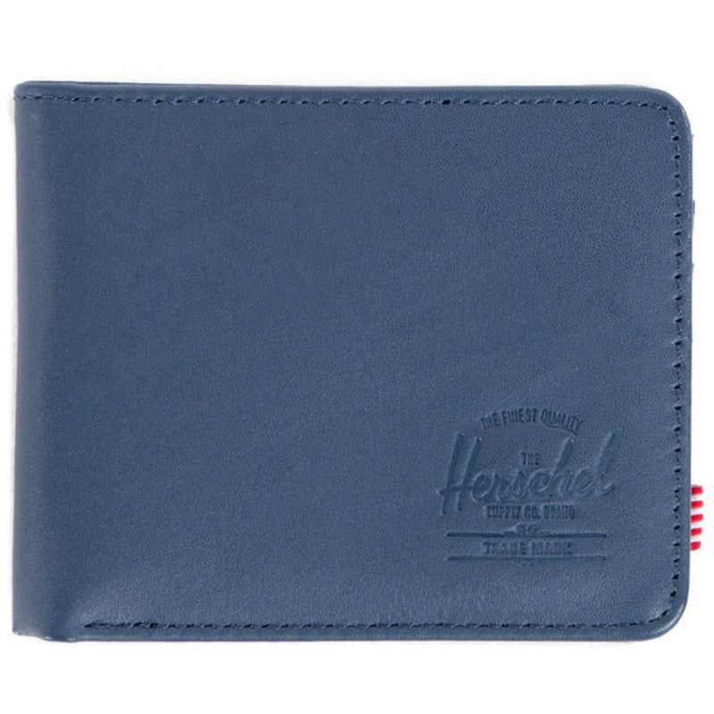 Herschel Hank Wallet | Navy Smooth Leather