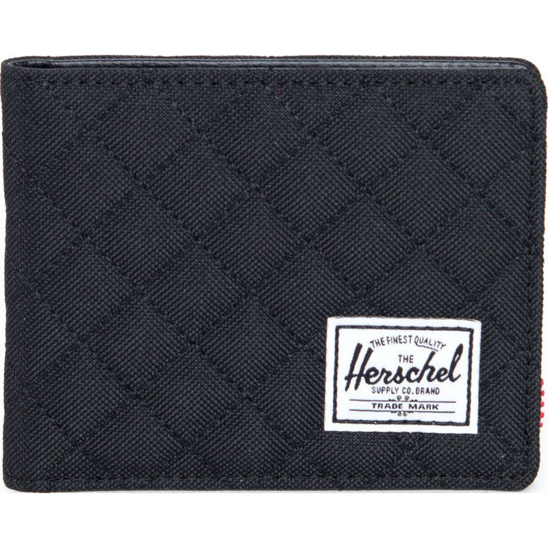 Herschel Hank Quilted Wallet | Black