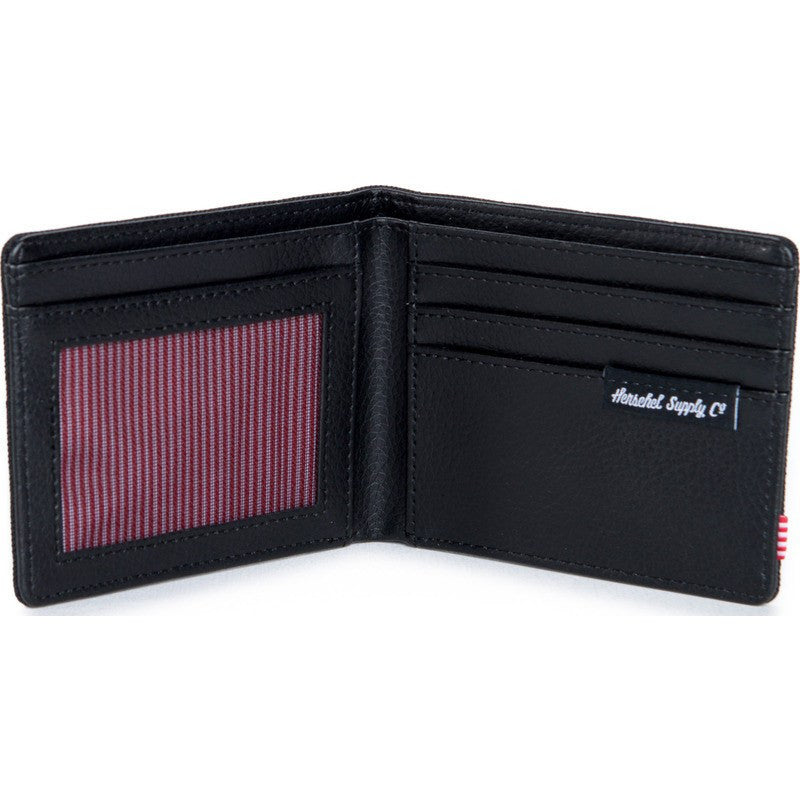 Herschel Hank Quilted Wallet | Black 10049-00866-OS