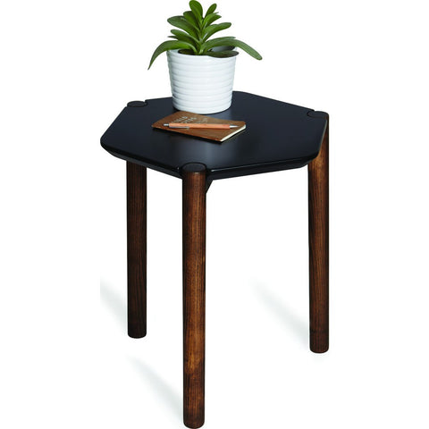 Umbra Lexy Side Table | Black/Walnut 1005863-048