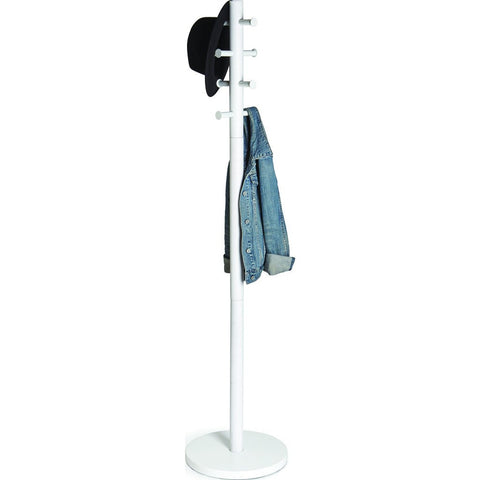 Umbra Pillar Coat Rack | White 1005871-1006