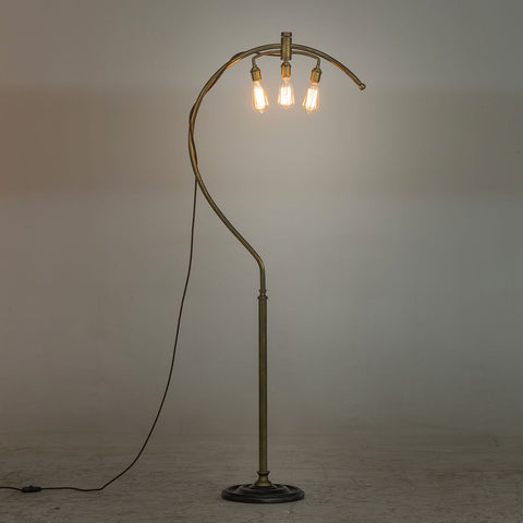 Resource Decor Cartographer Floor Lamp | Brass