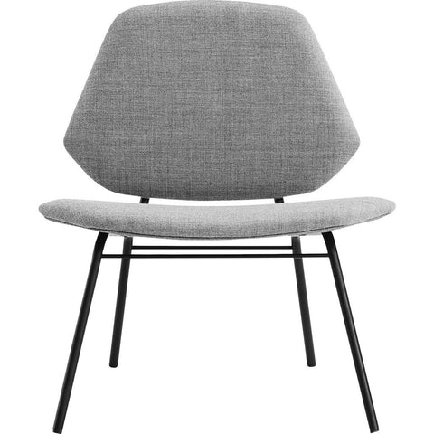 Woud Lean Lounge Chair | Grey 100710