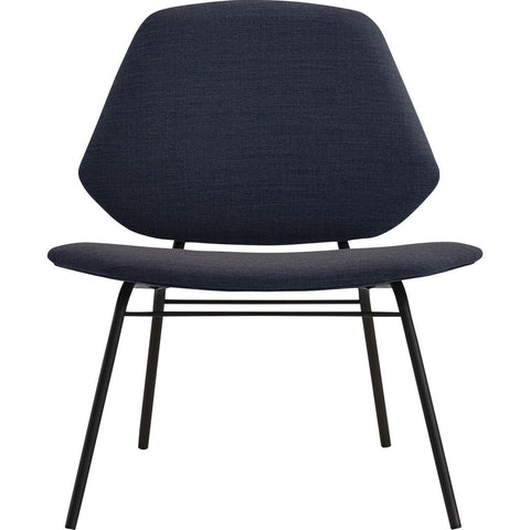 Woud Lean Lounge Chair | Dark Blue 100711