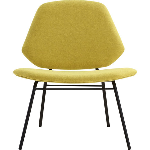 Woud Lean Lounge Chair | Yellow 100712