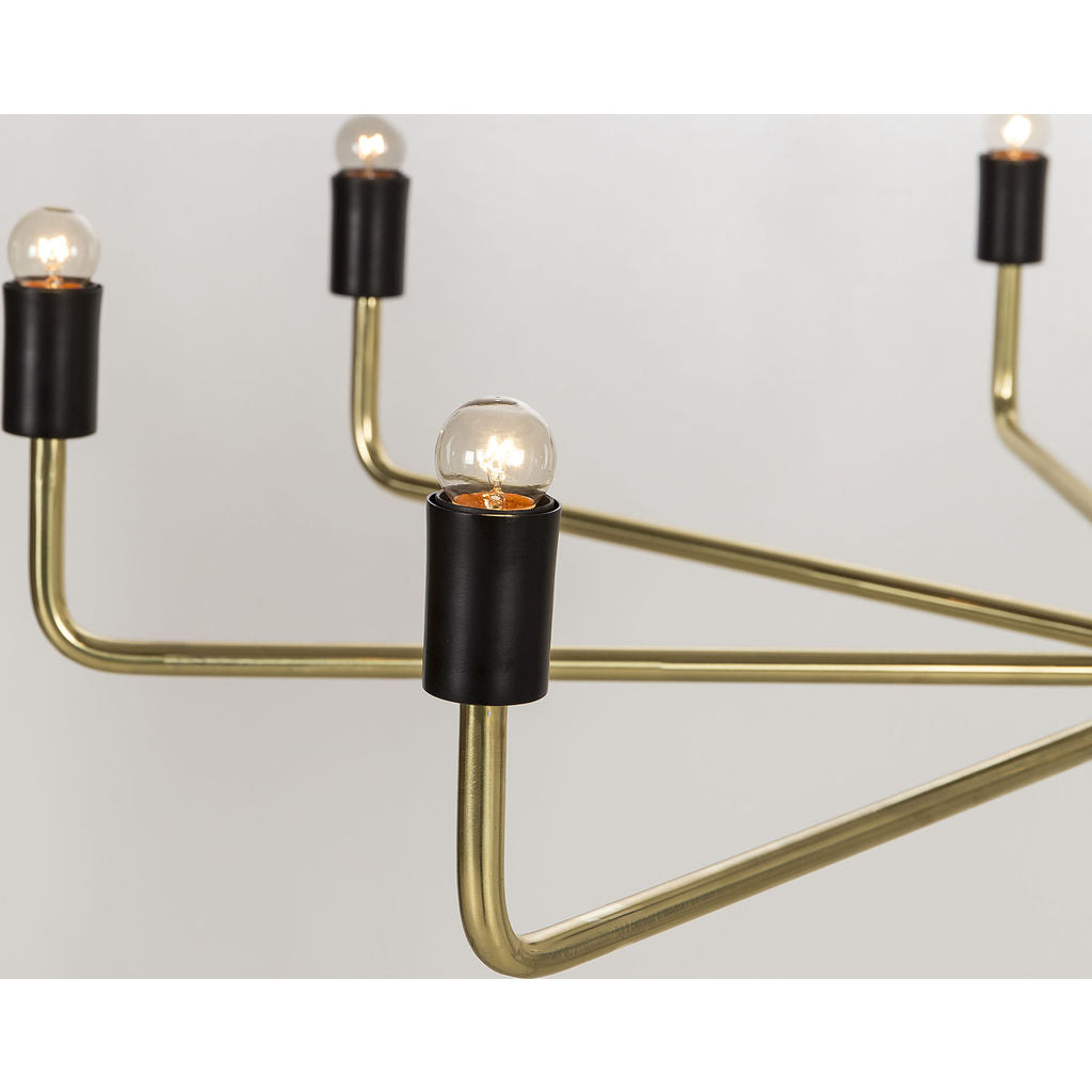 Resource Decor Le Marais Chandelier | 8 Light/Brass