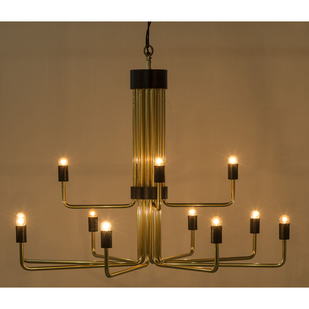 Resource Decor Le Marais Chandelier | 12 Light/Brass