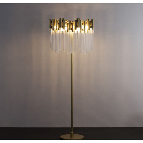 Resource Decor Royal Maroc Floor Lamp | Gold