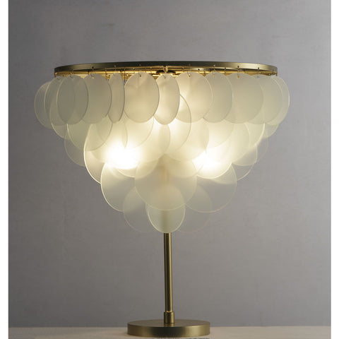 Resource Decor Cloud Floor Lamp | Brass/Etched Glass