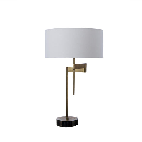 Resource Decor Gear Swing Lamp | Burned Brass